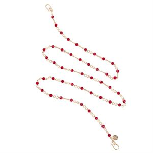 Picture of Infinity Red Gold Chain